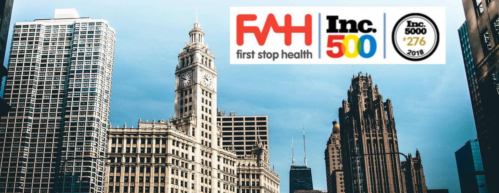Inc. Magazine Features First Stop Health as One of Chicago's Fastest Growing Privately-Held Companies